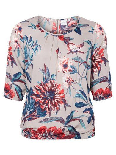 JUNAROSE Blumen Bluse