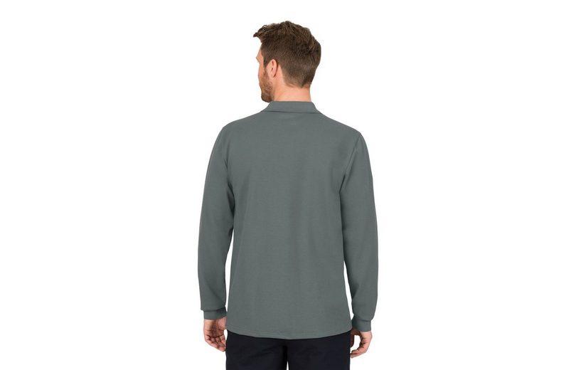 Großhandelspreis Zu Verkaufen TRIGEMA Langarm Poloshirt aus Biobaumwolle Verkauf In Deutschland cdxF6