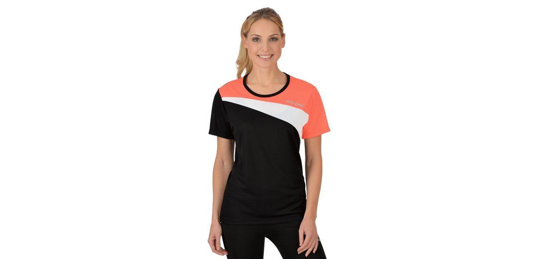 Sport Dreifarbiges TRIGEMA COOLMAX Shirt Dreifarbiges TRIGEMA wvTqYY7