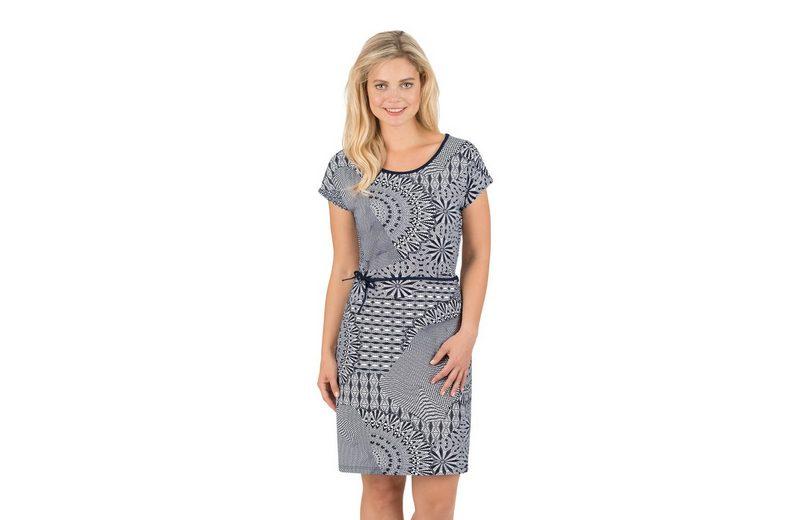 Für Billigen Rabatt TRIGEMA Viskose Kleid mit Bindegürtel Outlet Bequem Rabatt Vermarktbare b40fR