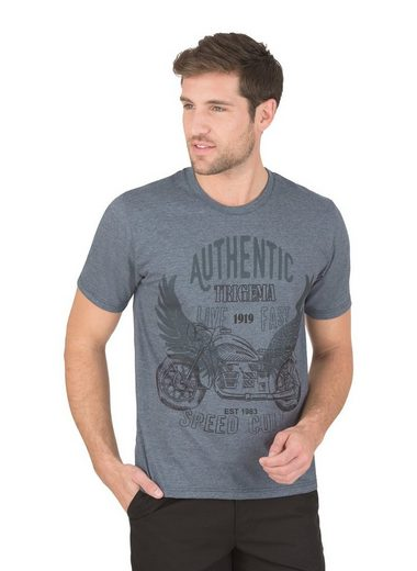 TRIGEMA Melange T-Shirt Authentic