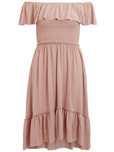 Vila Off-Shoulder Kleid
