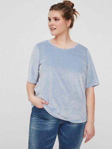 JUNAROSE Velours T-Shirt