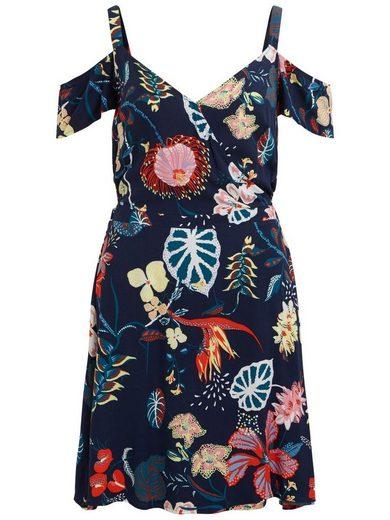 Vila Blumenmuster Kleid