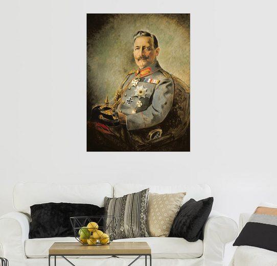 Posterlounge Wandbild - Vienna Nedomansky Studio »Wilhelm II, German Emperor, c.1916«