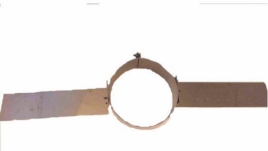 Zitec Rohrschelle, 15 cm Innendurchmesser