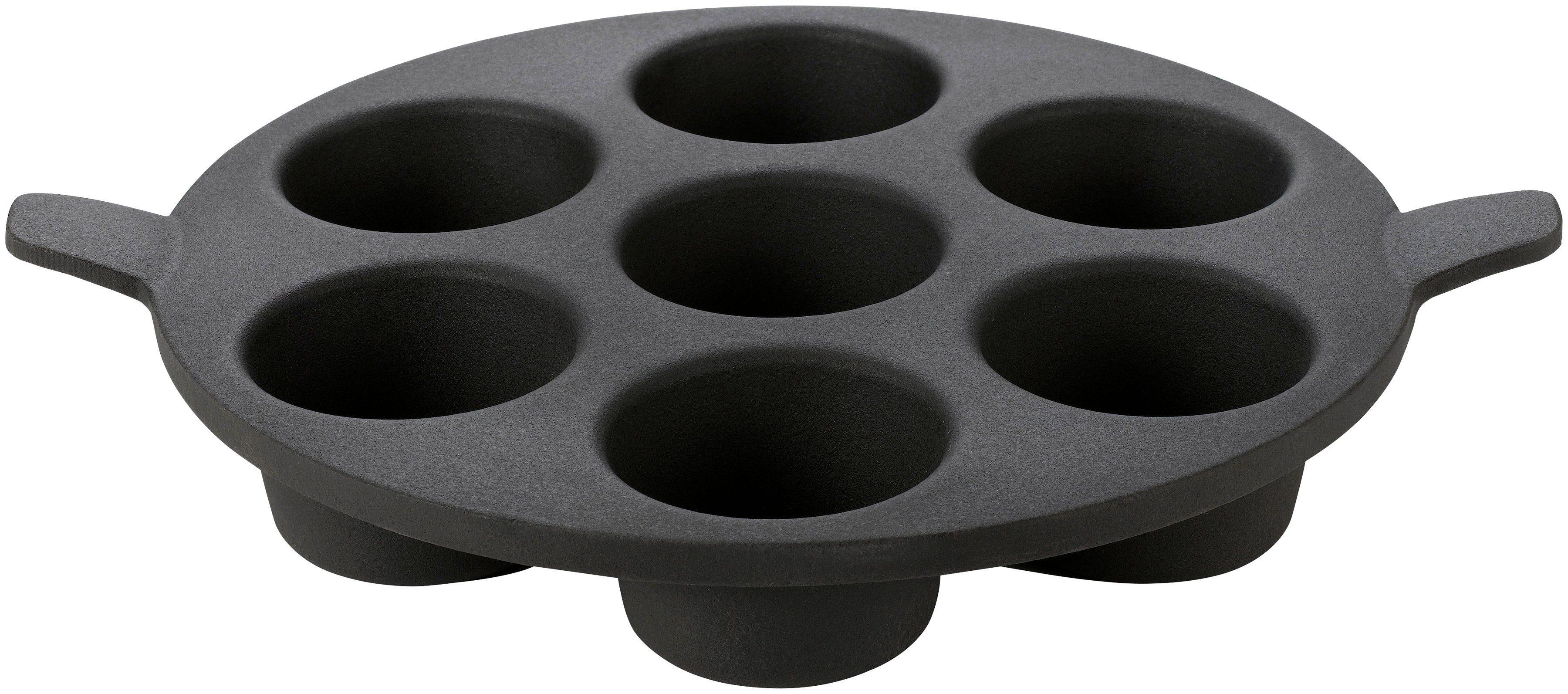 TEPRO Gasgrill-Einsatz »Rost-in-Rost-System«, für Gebäck: ca. 32 cm Ø x 5 cm