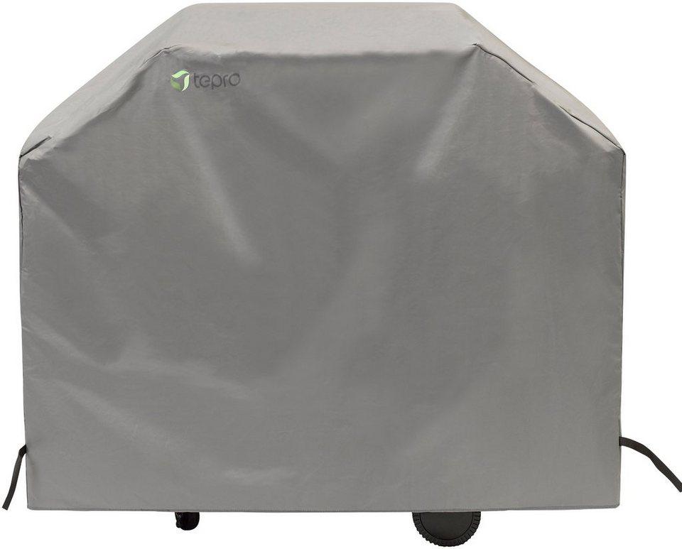 Abdeckung Für Gasgrill Landmann : Tepro abdeckhaube bxtxh: 130x65x100 cm für gasgrill mittel aus