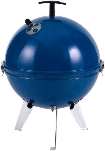 TEPRO Kugelgrill »Crystal«, blau, ØxH: 30,5x44 cm