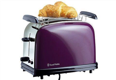 Russell Hobbs Toaster »Colours Purple Passion 14963-56«, für 2 Scheiben in Purplefarben