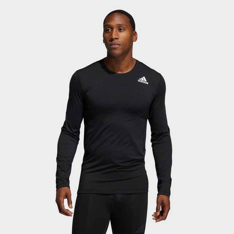 adidas Performance Trainingsshirt »TECHFIT COMPRESSION LONG SLEEVE TOP«