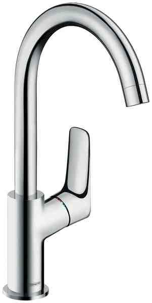 HANSGROHE Waschtischarmatur »Logis ComfortZone 210«, Wasserhahn mit Schwenkauslauf