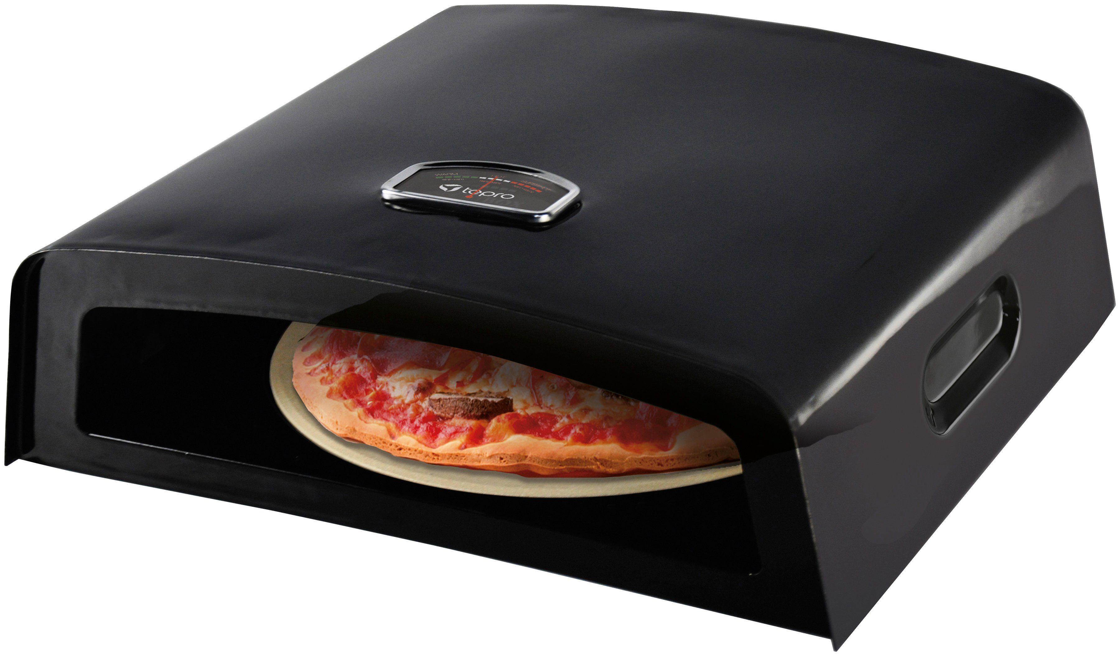 Pizzaofen Für Gasgrill : Tepro pizzaofen aufsatz für holz und gasgrill otto