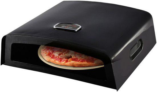 TEPRO Pizzaofen, Aufsatz für Holz- und Gasgrill