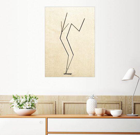 Posterlounge Wandbild - Wassily Kandinsky »Analytische Zeichnung«