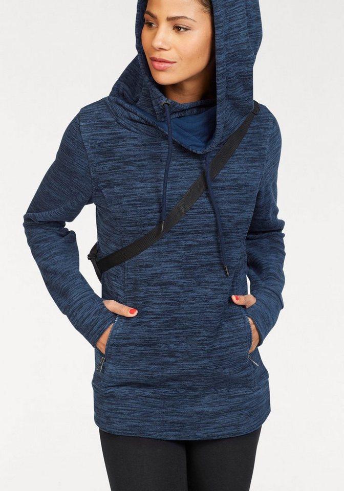 KangaROOS Fleecepullover mit Melange-Effekt | Sportbekleidung > Fleecepullover | Blau | KangaROOS