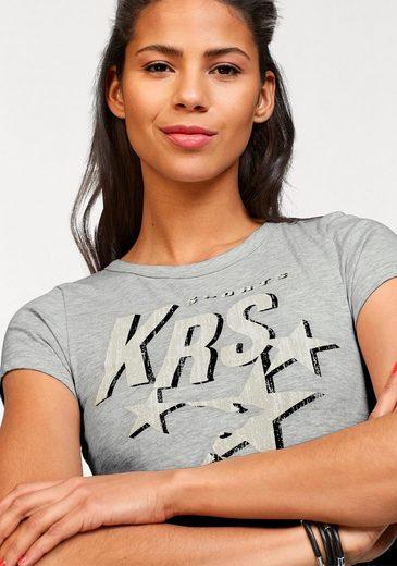 KangaROOS T-Shirt, mit Logo-Print