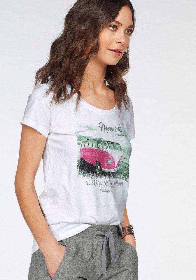 e9cb2a14bb2caa ROADSIGN australia T-Shirt mit coolem Fotoprint