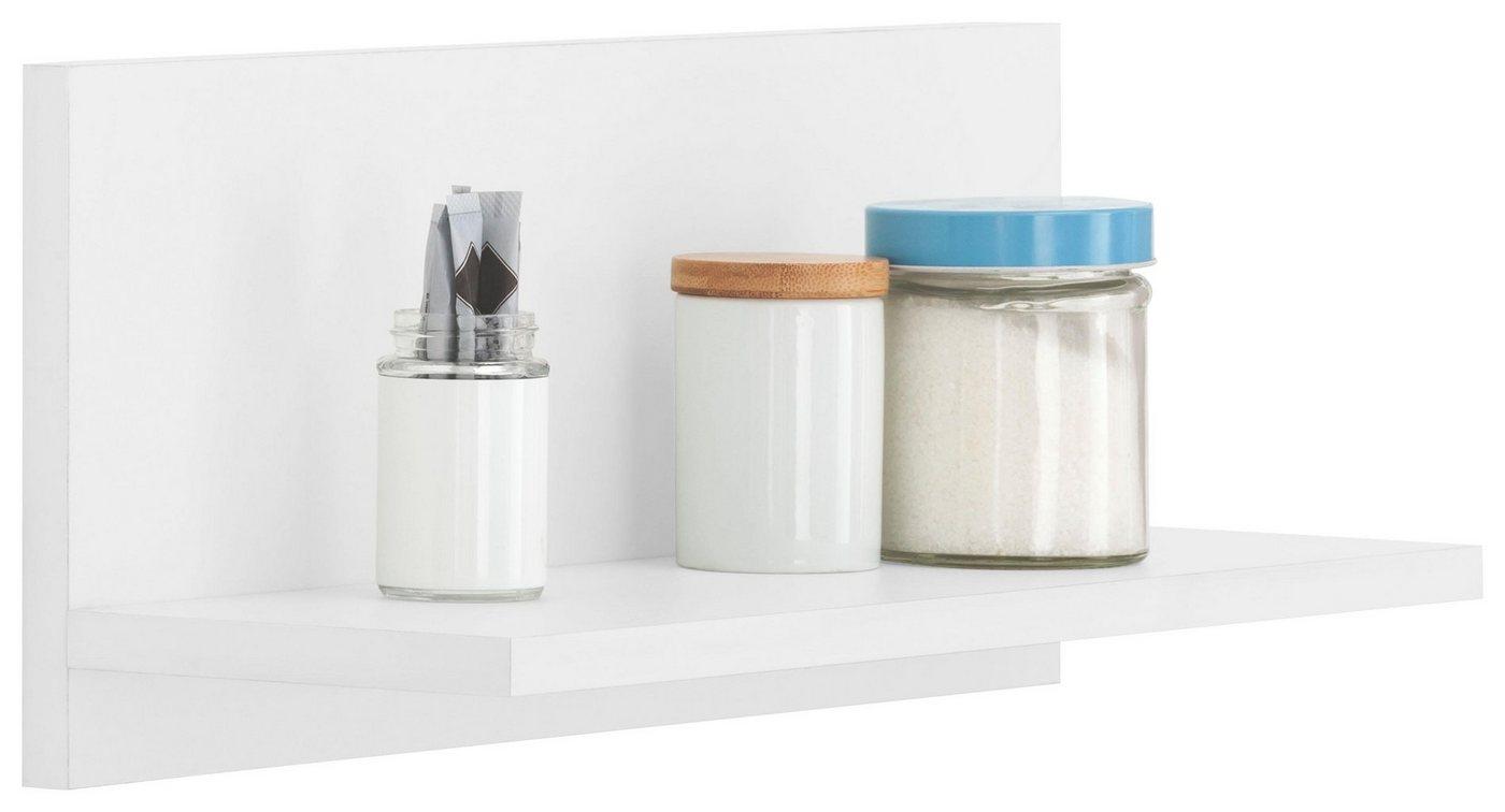 WIHO-Küchen Wandregal »Flexi2«, Breite 50 cm | Küche und Esszimmer > Küchenregale > Küchen-Standregale | Weiß | wiho Küchen