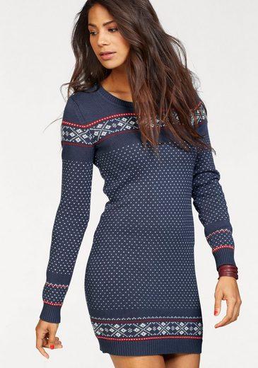 Kangaroos Lace Dress, With Norwegian-pattern