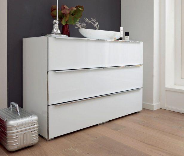 nolte® Möbel Kommode »Alegro Style«, Glasfronten, Breite 120 cm