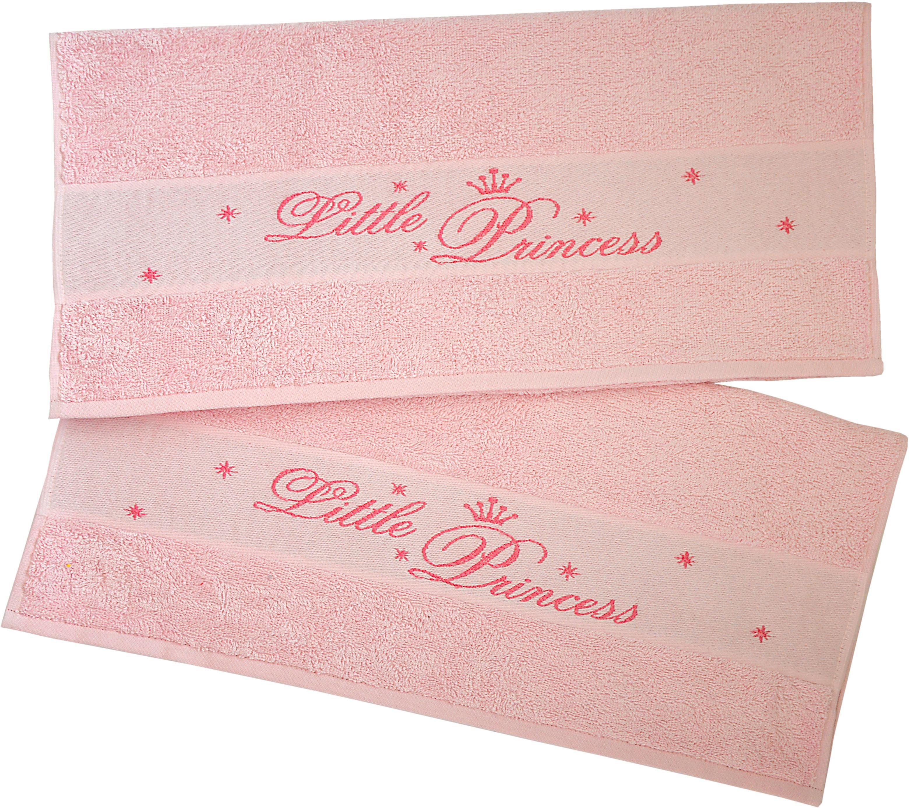 Handtücher »Little Princess«, Dyckhoff, mit eingewebten Schriftzug