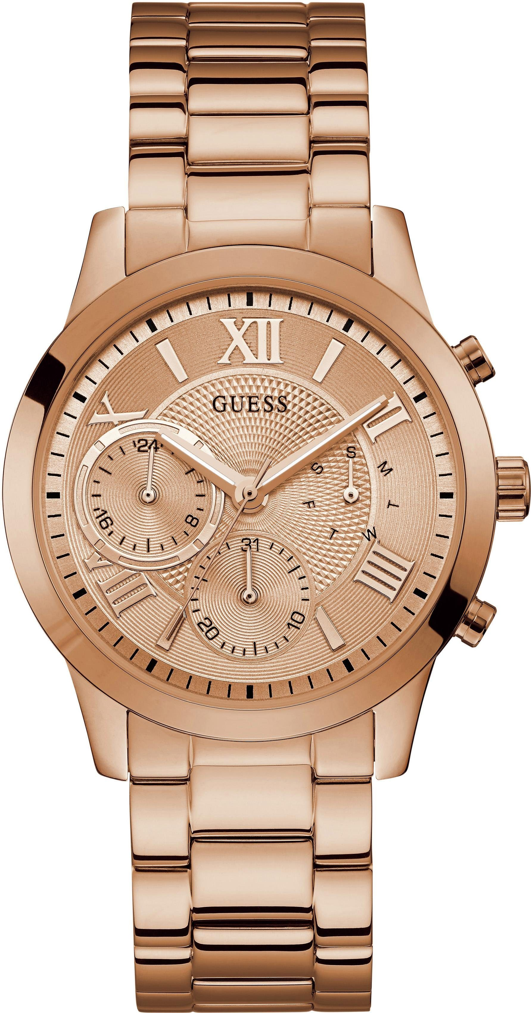 Guess Multifunktionsuhr »SOLAR, W1070L3«