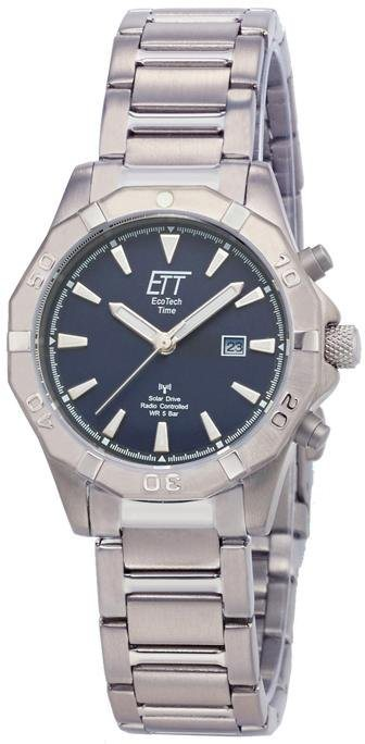 ETT Funkuhr »ELT-11357-10M« (Set, 2 tlg., mit Schnellladelampe) | Uhren > Funkuhren | ETT