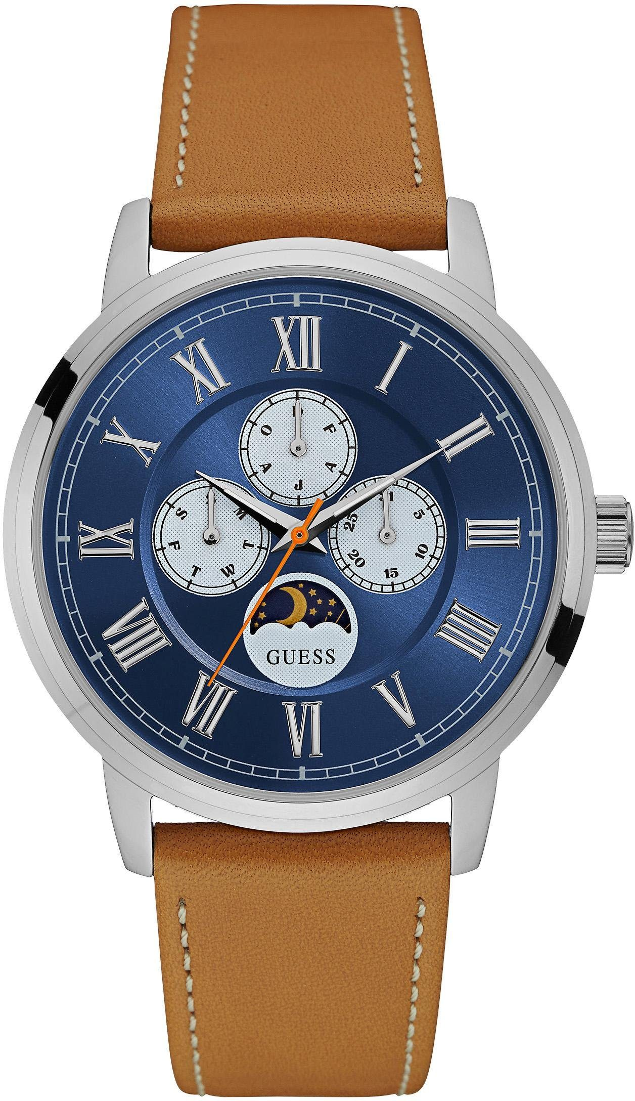 Guess Multifunktionsuhr »DELANCY, W0870G4«
