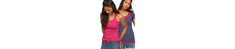 KangaROOS T-Shirt (Set, mit Top), Doppelpack