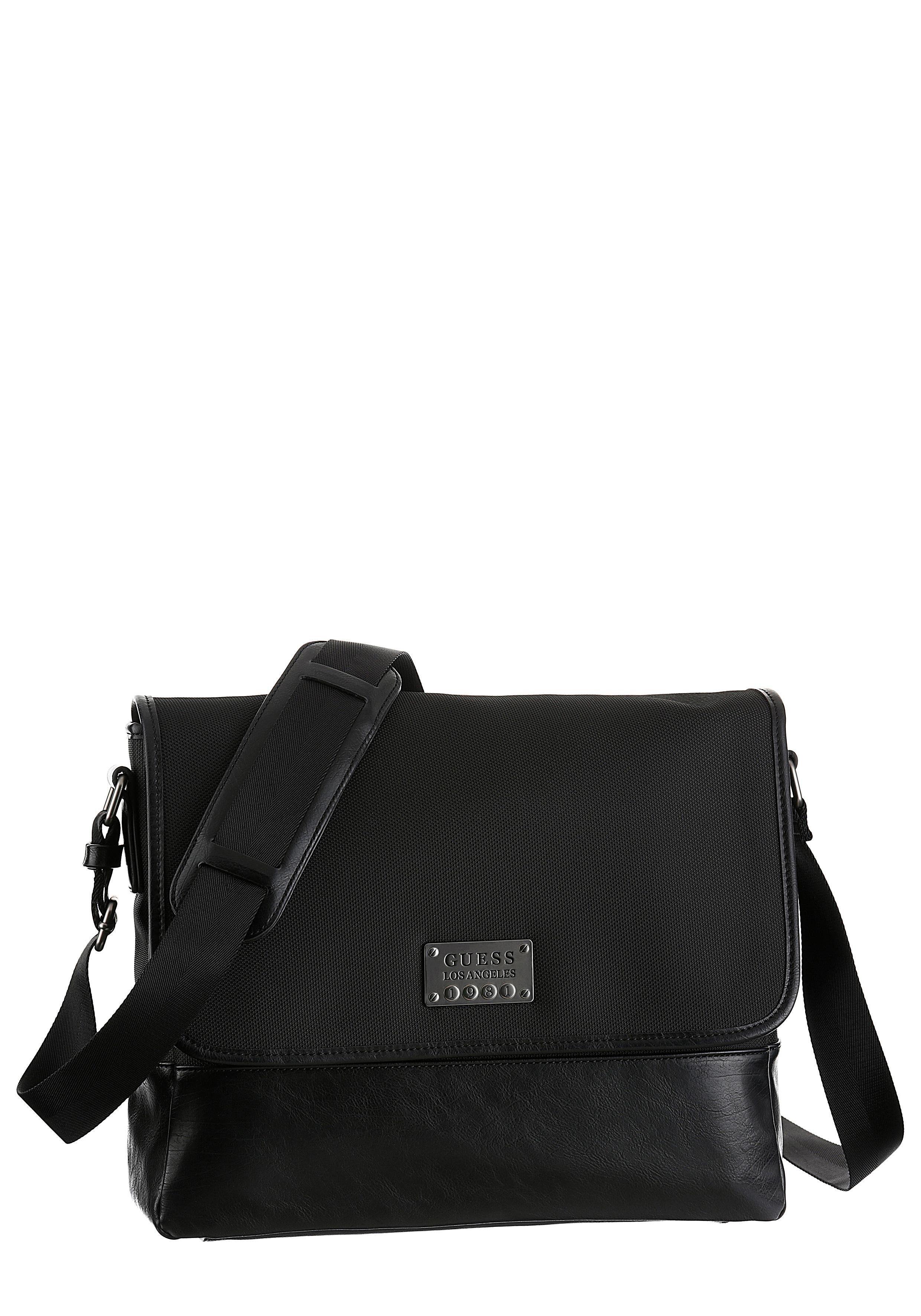 Guess Messenger Bag, mit gepolstertem Laptopfach