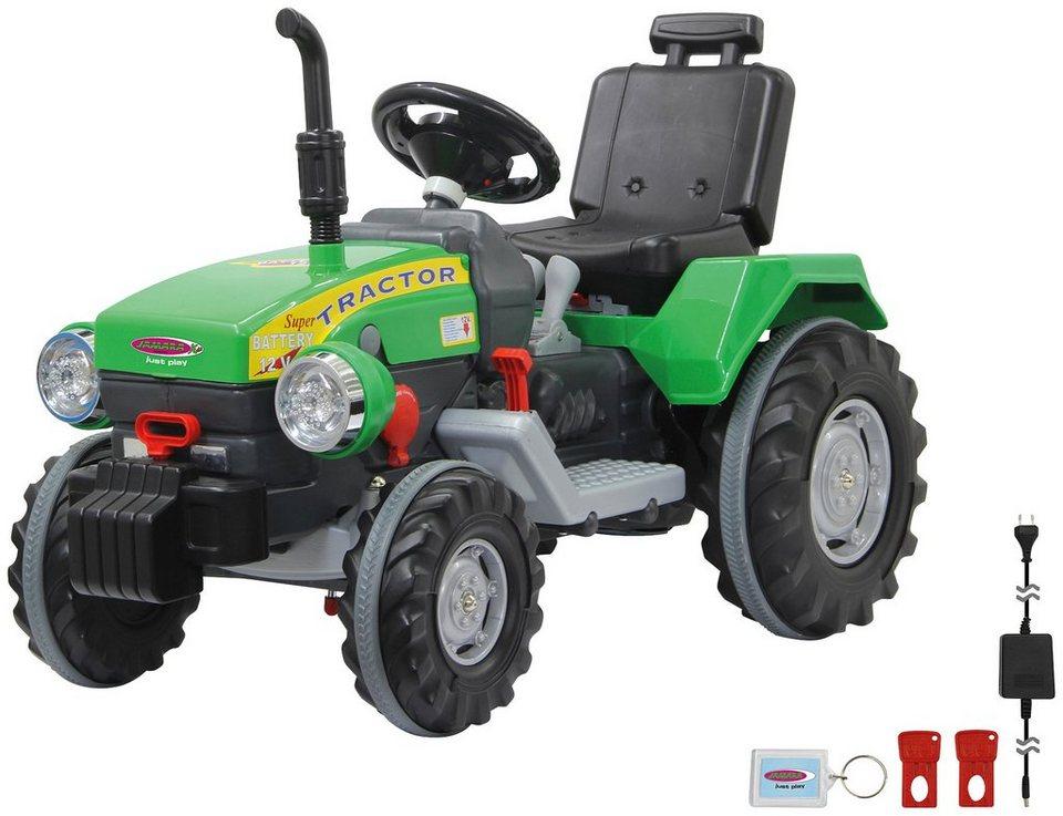 jamara elektroauto traktor power dragl f r kinder ab 3. Black Bedroom Furniture Sets. Home Design Ideas