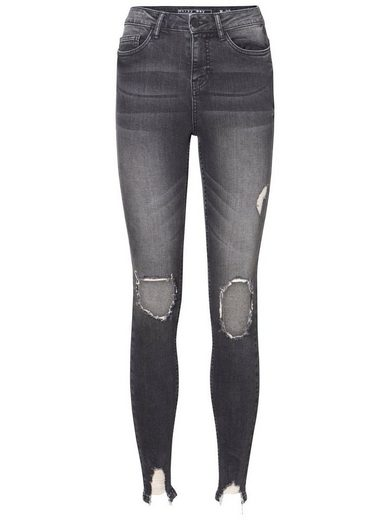 Noisy May Lexi Hw Destroyed Skinny Fit Jeans