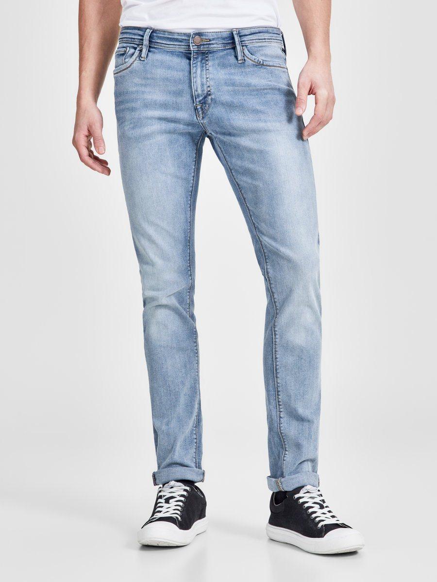 Jack & Jones GLENN FELIX AM 667 LID NOOS Slim Fit Jeans | Bekleidung > Jeans > Slim Fit Jeans | Jeans - Polyester - Denim - Elasthan | Jack & Jones