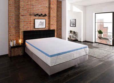 Topper »Aquam«, my home, 5 cm hoch, Raumgewicht: 40, Kaltschaum, Mit kühlendem Coolmax-Bezug für eine gute Temperaturregulierung. Gut auch für heiße Sommernächte und Schwitzer