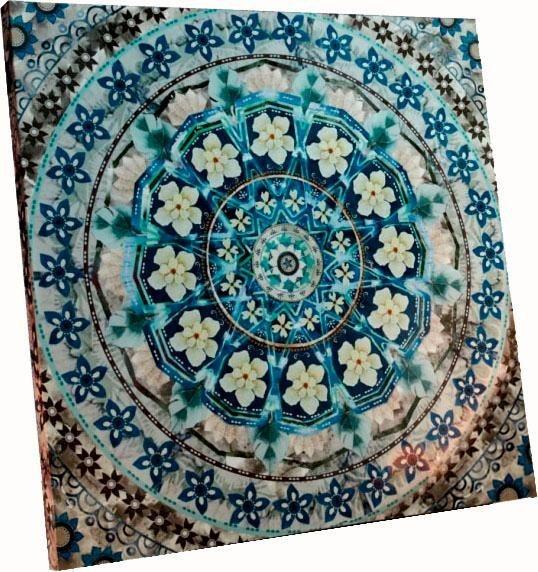 Schneider Bild Blue Mandala Im Orientalischen Stil Online Kaufen