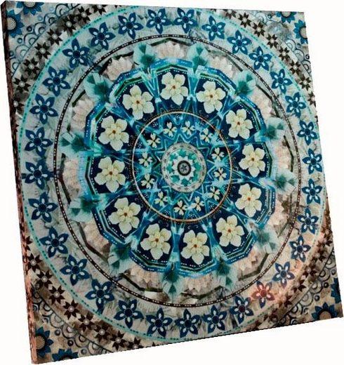 Schneider Bild »Blue Mandala«