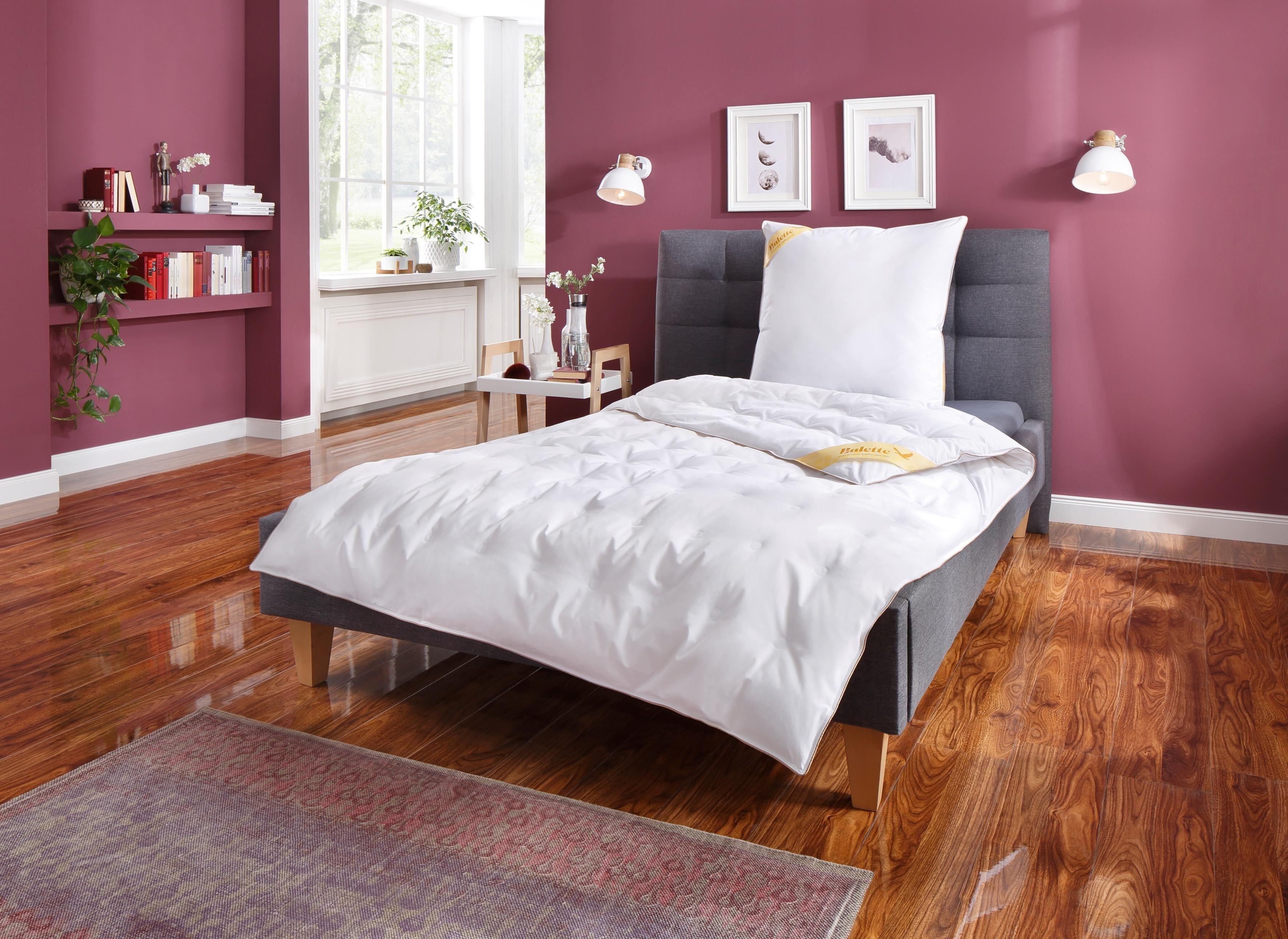 Daunenbettdecke, »Aileen«, Balette 135 Jahre, leicht, (2-tlg) | Heimtextilien > Decken und Kissen > Bettdecken | Balette 135 Jahre