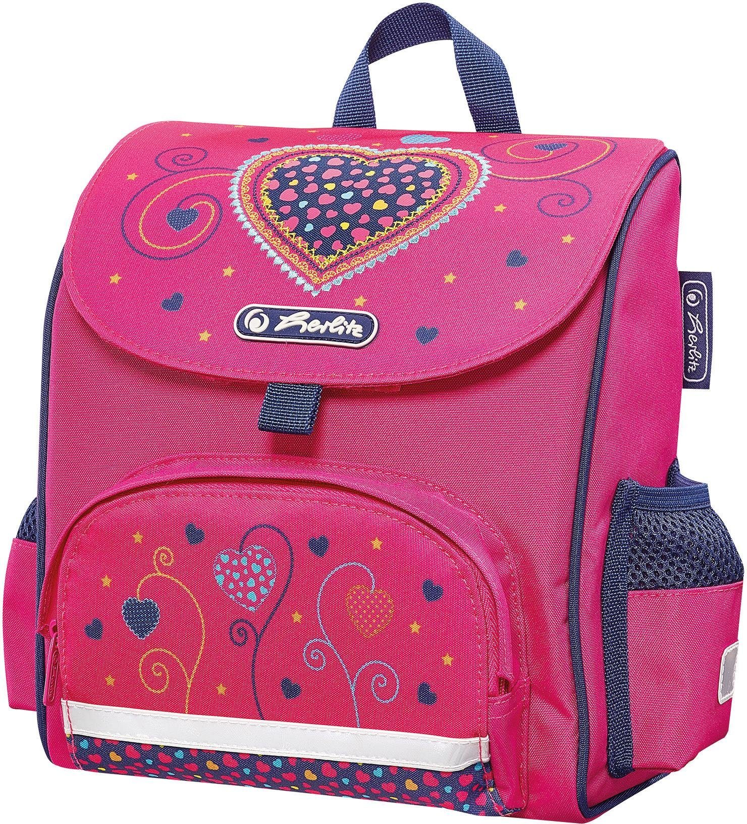 Herlitz Kindergartenrucksack, »Mini Softbag, Pink Hearts«