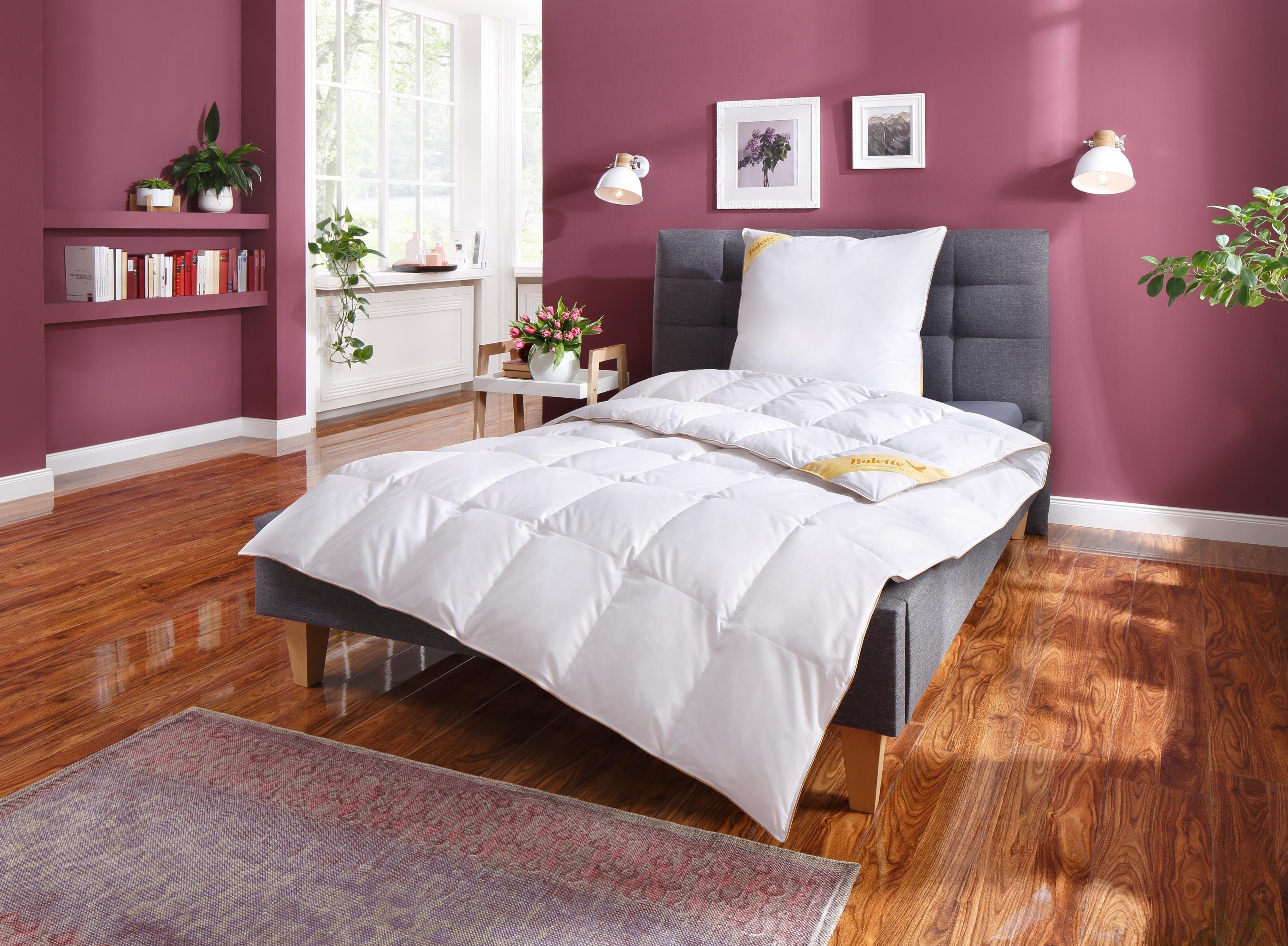 Daunenbettdecke, »Aileen«, Balette 135 Jahre, normal, (2-tlg) | Heimtextilien > Decken und Kissen > Bettdecken | Balette 135 Jahre