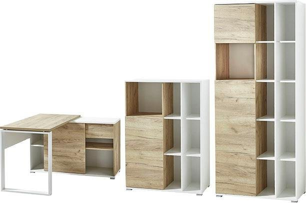 Büromöbel Sets - GERMANIA Büro Set »GW Lioni«, (Set, 3 tlg)  - Onlineshop OTTO