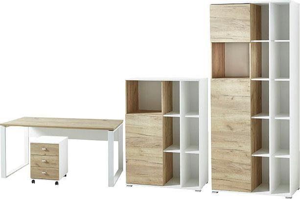 GERMANIA Büro-Set »GW-Lioni«, (Set, 4-tlg)