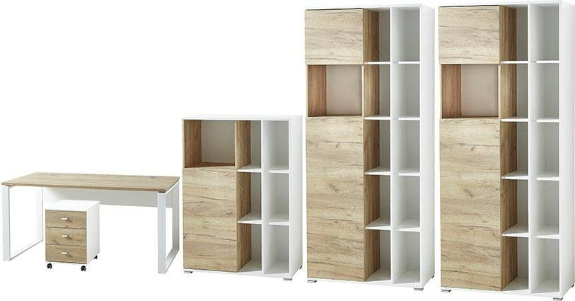 Büromöbel Sets - GERMANIA Büro Set »GW Lioni«, (Set, 5 tlg)  - Onlineshop OTTO