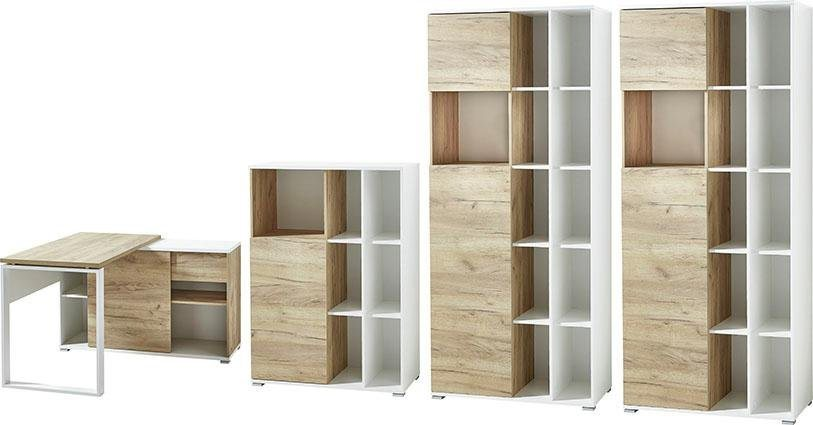 Büromöbel Sets - GERMANIA Büro Set »GW Lioni«, (Set, 4 tlg)  - Onlineshop OTTO