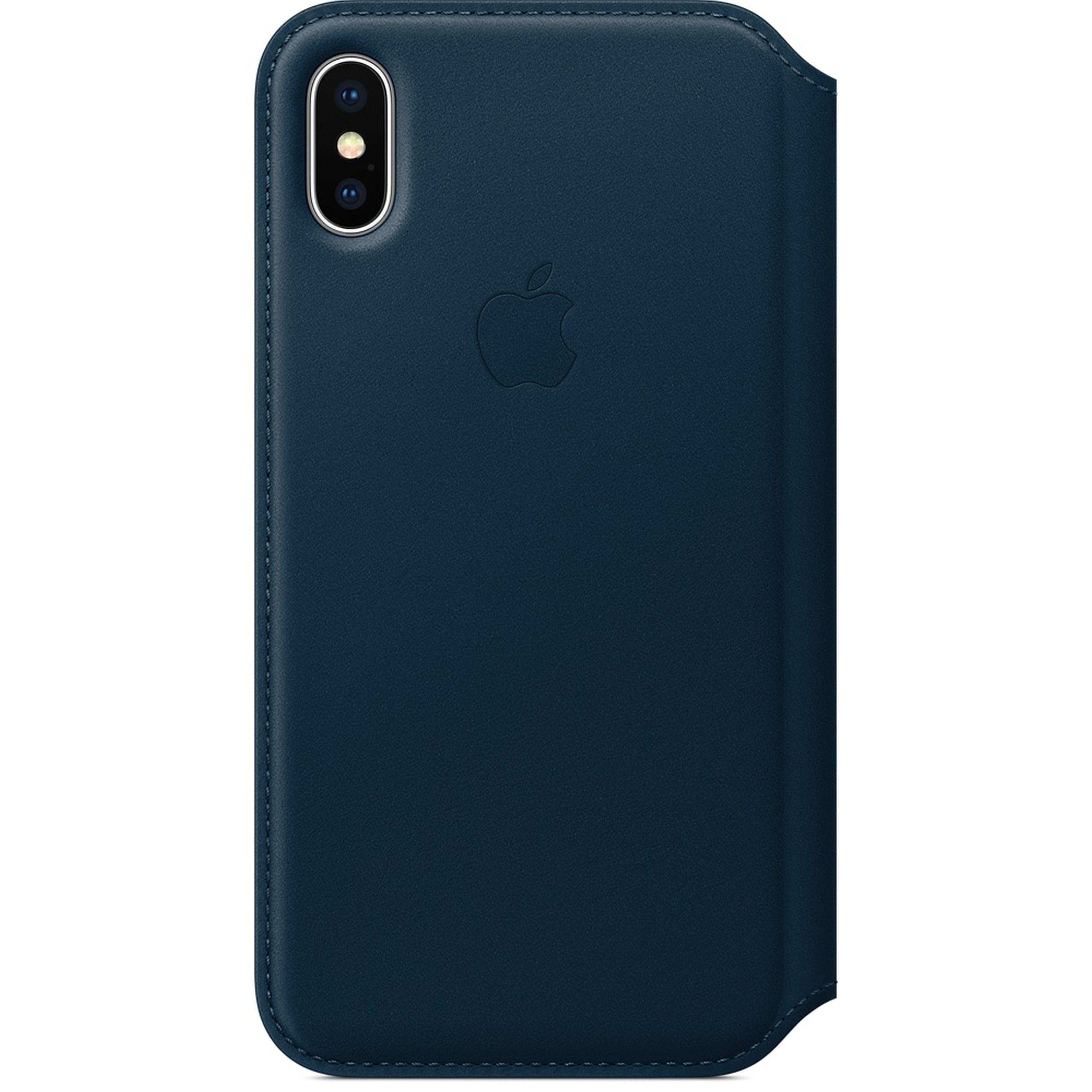 APPLE iPhone X Leather »Folio«