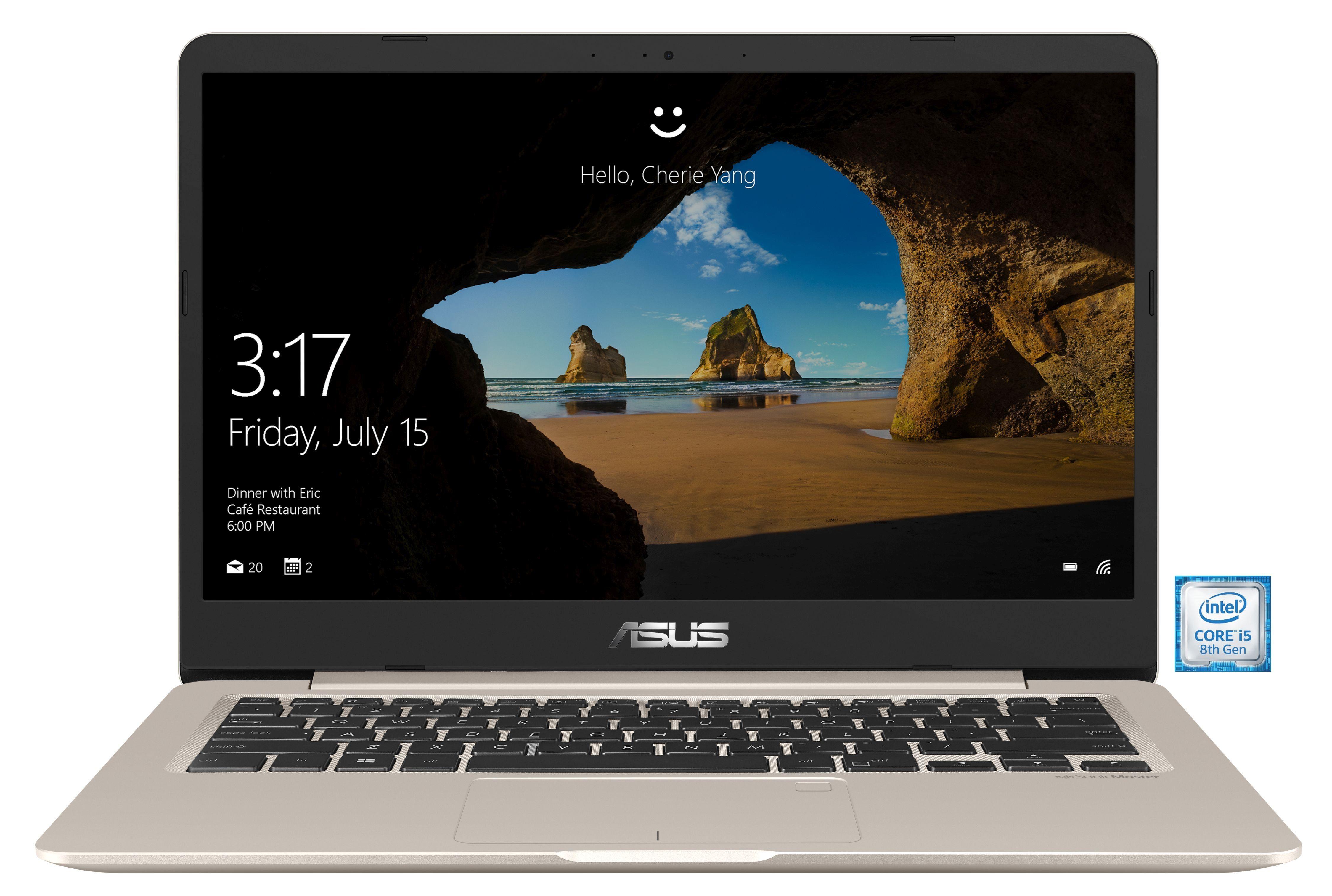 "ASUS VivoBook S406UA-BV027T Notebook »Intel Core i5, 35 cm(14"")256 GB SSD, 8 GB«"