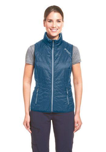 Damen Maier Sports Funktionsjacke Galway Vest W blau | 04056286898363