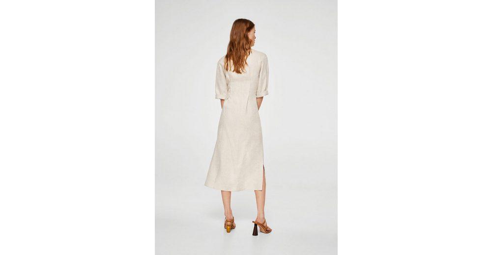 Mit Mastercard Online-Verkauf MANGO Midi-Kleid aus Leinen Schlussverkauf Billige Sast Günstiger Preis Zu Verkaufen Rabatt-Countdown-Paket zqFpRBH7e