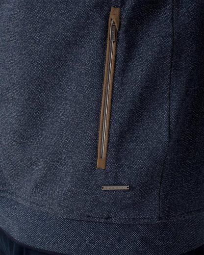 Bugatti Sweatjacke, mit Reißverschluss-Taschen