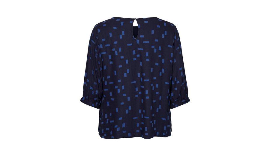 JUNAROSE Bedruckte Viskose- Bluse mit 3/4 Ärmeln Online Einkaufen Verkauf Komfortabel Original- Online Shop cIBIVJDv